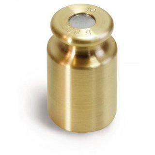 M1 Prüfgewicht Messing Knopfform geeicht 1 g - 10 kg