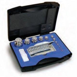 F2 Gewichtssätze im Kunststoff-Koffer auch geeicht bis 10 kg