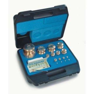 M1 Gewichtssatz Prüfgewichte Messing im Kunststoff-Koffer auch geeicht