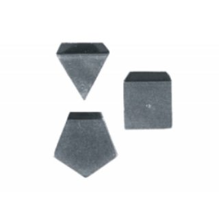 1 mg F1 Milligrammgewichte, Plättchenform, Aluminium / Neusilber