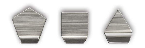 M1 Milligrammgewichte Plätchenform Edelstahl poliert