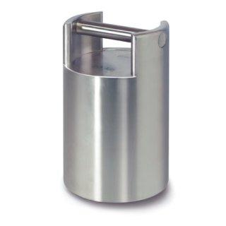 10 kg - F2 Kontrollgewichte, Edelstahl, stapelbar