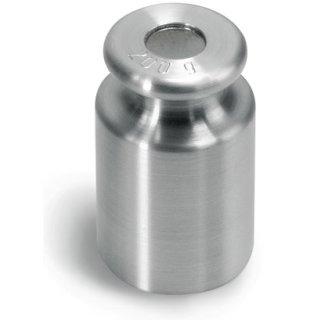 500 g - M1 Prüfgewicht Edelstahl feingedreht Knopfform