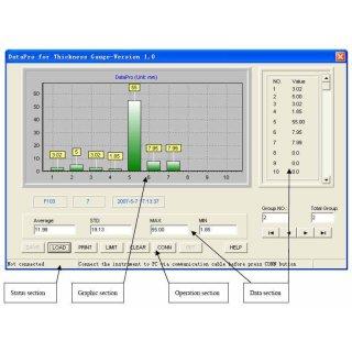 Datenübertragungssoftware für KERN TN-US