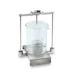 Universal-Dichtebestimmungsset für Kern Waagen zur Dichtebestimmung von Flüssigkeiten und Feststoffen