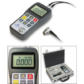 TN-US Materialdickenmessgerät - Materialstärke Max 1,2 - 230mm - d 0,01mm ohne ISO-Kalibrierschein