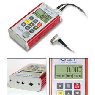 TU-US Materialdickenmessgerät Max=0,75 - 80mm | d=0,01mm ohne ISO-Kalibrierschein