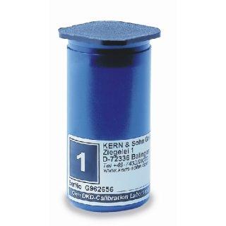 Kunststoff-Etui für Einzelgewicht 50 - 100 g