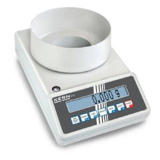 Max 420 g |  Ablesbarkeit 0,001 g | Ø 106 mm
