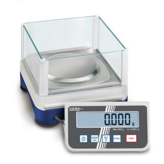 Max 250 g    Ablesbarkeit 0,001 g   Wägeplattengröße Ø 105 mm