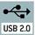 Integrierte USB 2.0 Digitalkamera Zur direkten Übertragung des Bildes an einen PC