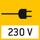 Netzteil Im Mikroskop integriert. 230V/50Hz Standard EU. Weitere Standards, wie z. B. GB, USA oder AUS auf Anfrage.