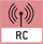 Waage ist mit Funk ausgestattet: Waagen kann die Waagendaten (Gewicht, Druckerdaten) übermitteln oder die Waage ist über eine Funk-Fernbedienung zu bedienen.